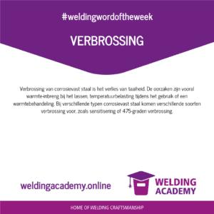 Verbrossing