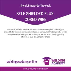 Self-shielded flux cored wire