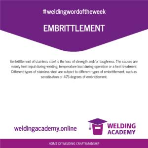 Embrittlement