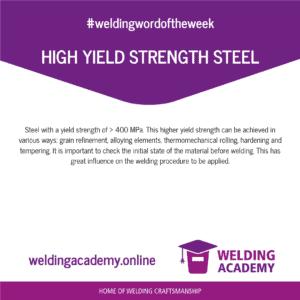 High Yield Strength Steel