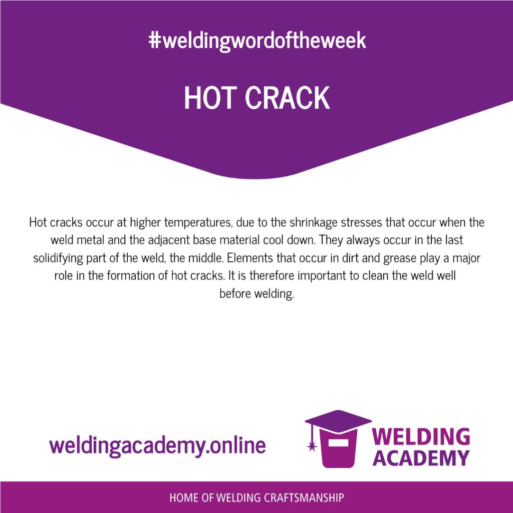 Hot crack