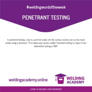 Penetrant testing